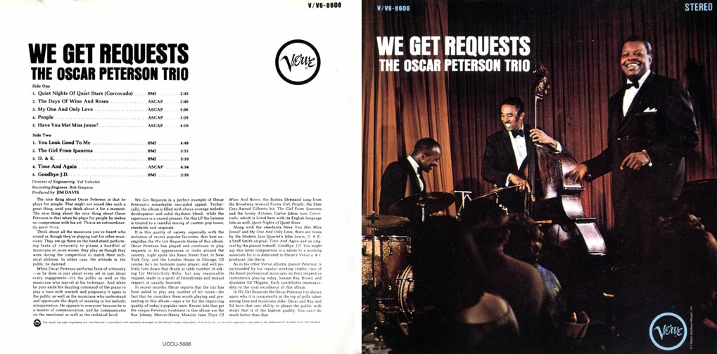 Index php furthermore Munich2017conclusion en in addition The Days Of Wine And Roses moreover 838001 Oscar Peterson Trio Lp We Get Requests Verve V V6 8606 Original 1964 Us Album also 12347054. on oscar peterson trio we get requests